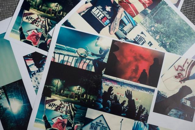 Bilderauswahl und erste Farbtests