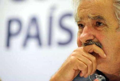 JOSÉ MUJICA. Presidente de Uruguay.