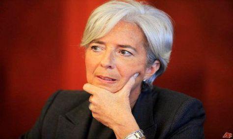 CANDIDATA. Entre las favoritas a liderar el FMI se encuentra Christine Lagarde.