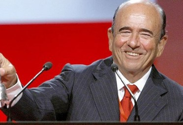 EMILIO BOTÍN. Presidente del Banco Santander.