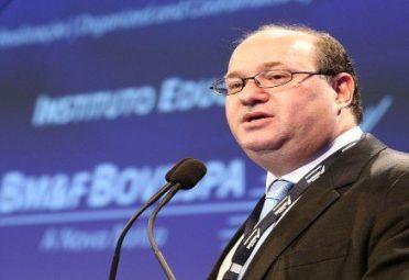 Ilan Goldfajn. Jefe del banco Itaú de Brasil.