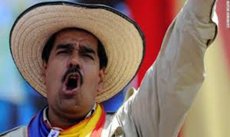 NICOLÁS MADURO. Presidente de Venezuela.