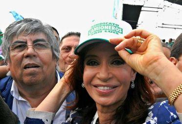OTROS TIEMPOS. Cuando Moyano y CFK eran aliados.