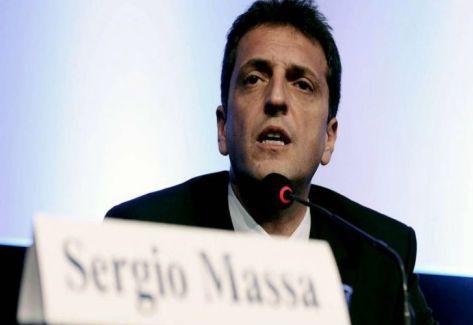 SERGIO MASSA. Diputado por el Frente Renovador.