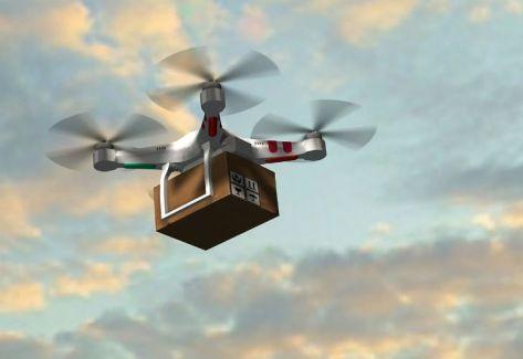 Se viene el delivery con drones
