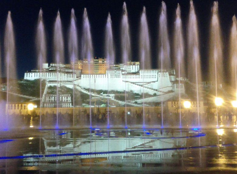 Potala Fountain