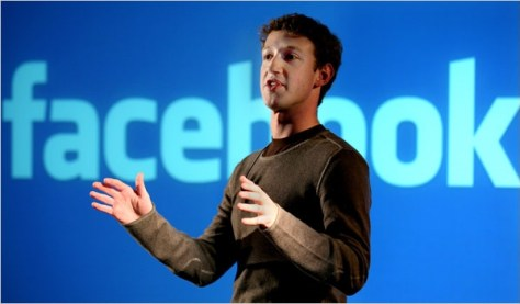ZUCKERBERG. CEO y fundador de Facebook