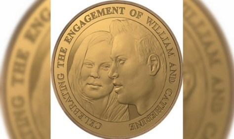 MONEDA. Kate y William ya tienen una edición especial por la boda.
