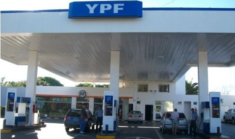 YPF. Aumenta combustibles.