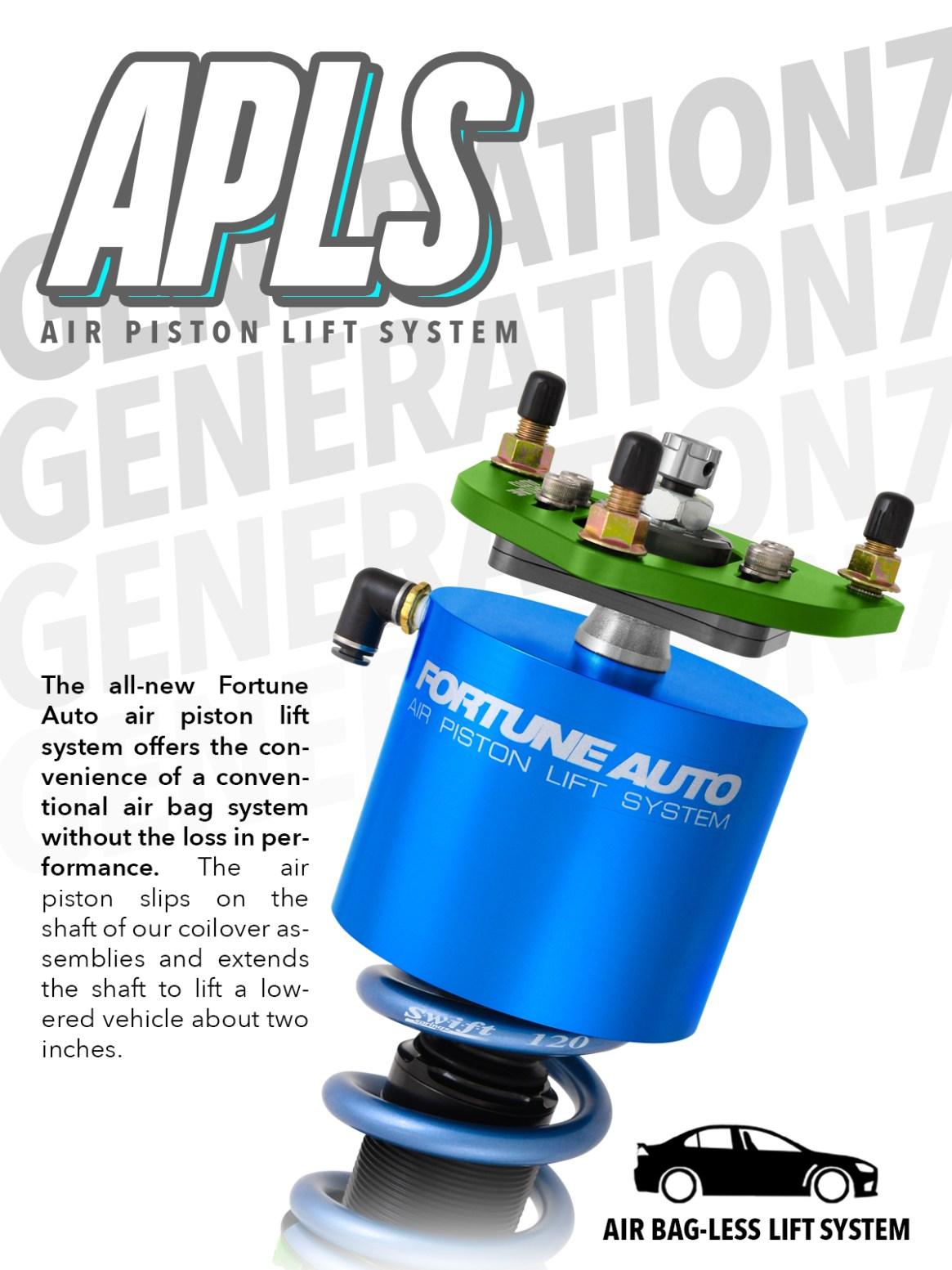Air Piston Lift System