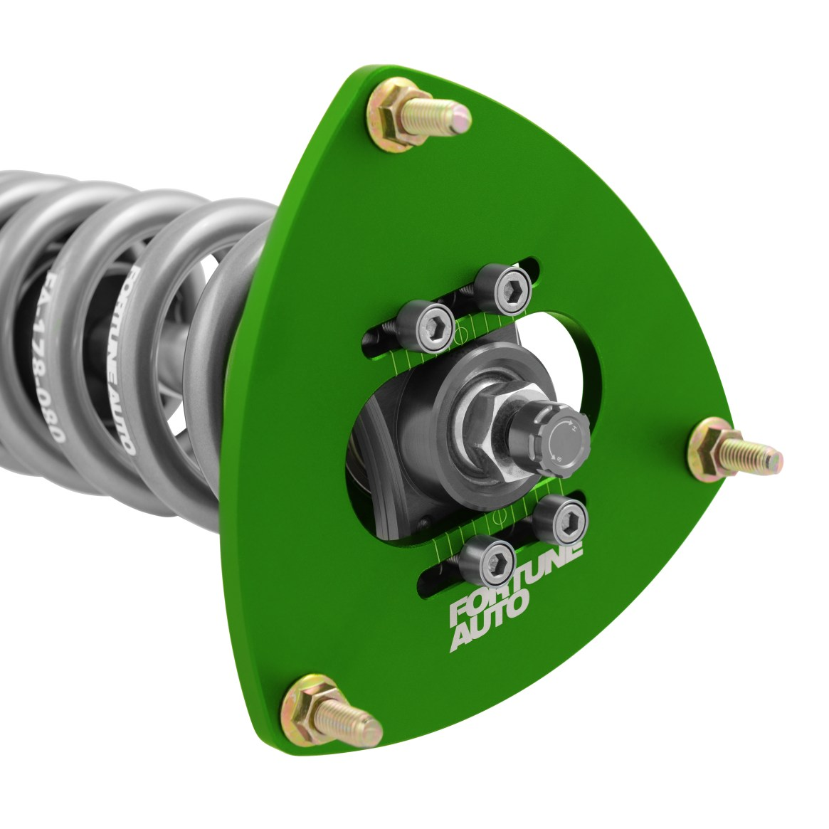 Fortune Auto 500 Series coilovers – adjustable coilover camber plate