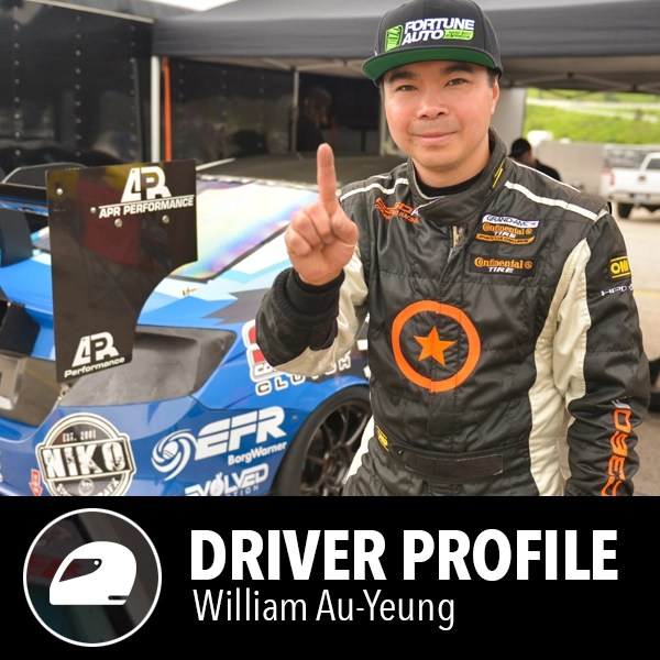 Fortune Auto Coilovers sponsored driver - William Au-Yeung