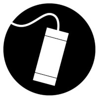 remote canister for coilover with hose