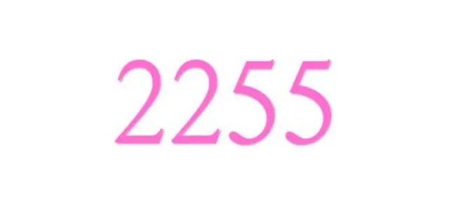 エンジェルナンバー「2255」の重要な意味を解説