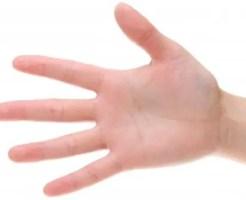 手のひらのほくろの位置で不幸になるか分かる8のほくろ占い