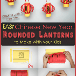 Easy Chinese New Year S Rounded Lanterns To Make With Your Kids Fortune Cookie Mom