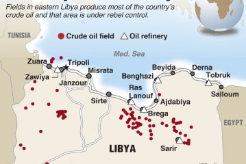 Libya is extremely rich from oil