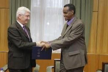 Development partners with Somalia