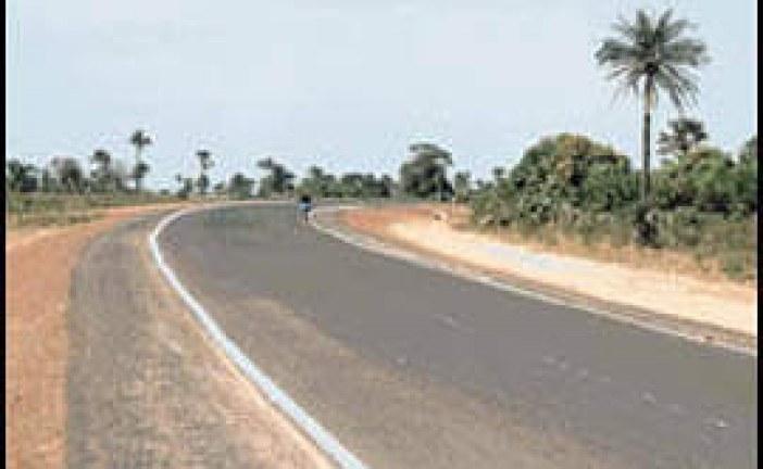 Transport system in Banjul Gambia