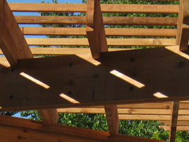 A Bell Shaped Pergola In Southwest Fort Wayne The Icing