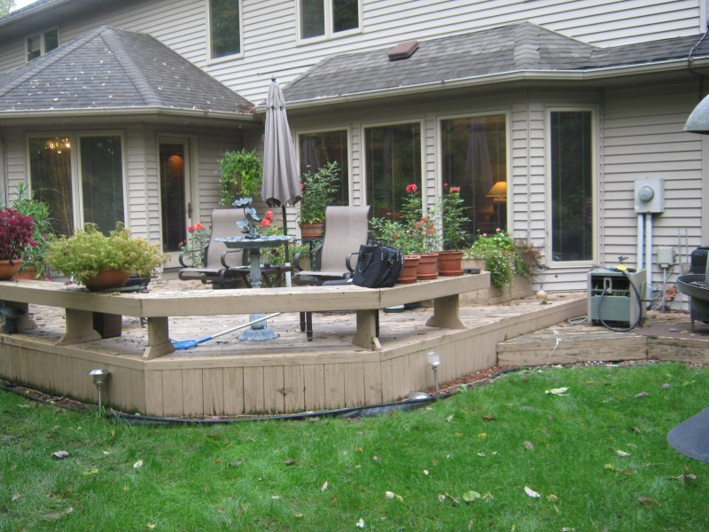 build wood deck over concrete patio « obsolete76egn on Deck Over Patio Ideas id=66947
