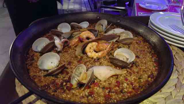 Paella de marisco (NT$699 for two)