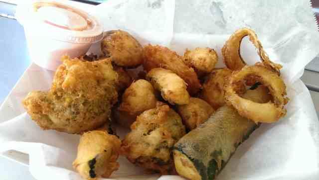 deep-fried veggies