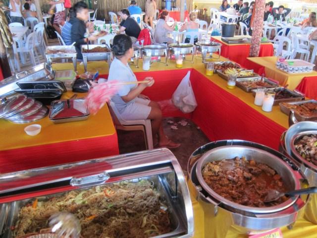 Restaurant at Sabang Boat Terminal, Palawan, Philippines