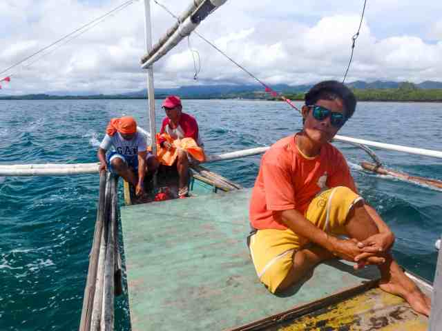 boatman honda bay palawan philippines