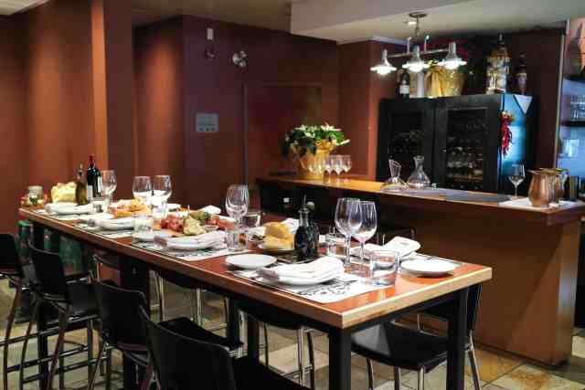 mercato calgary personal table