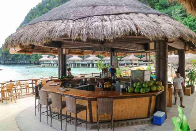 Bar at Miniloc Island, El Nido, Palawan, Phlippines