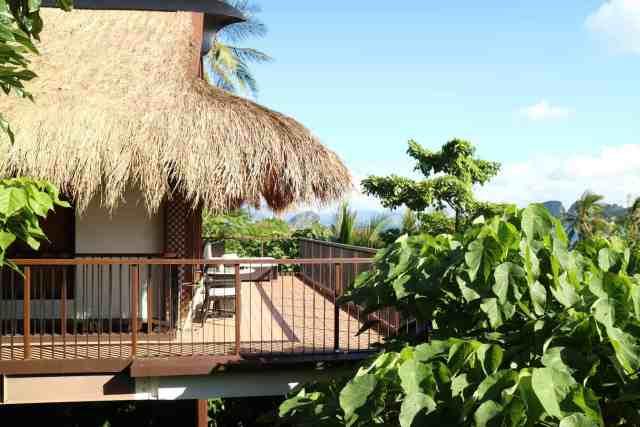 Canopy villa at Pangulasian, El Nido, Palawan, Phlippines