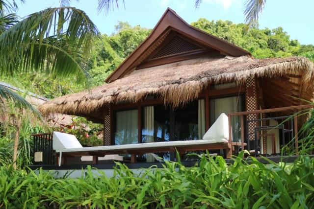 Beach villa at Pangulasian, El Nido, Palawan, Phlippines