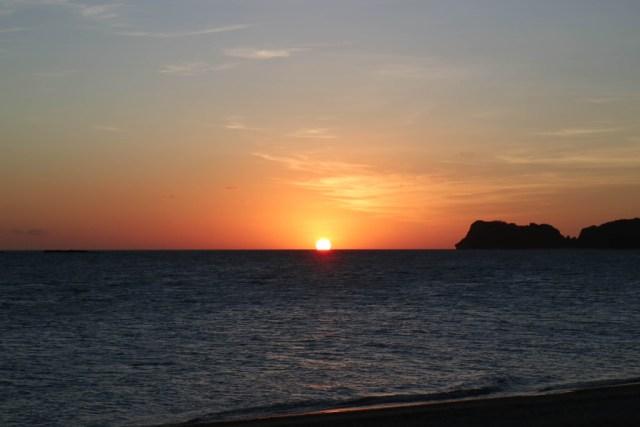 Sunset at Pangulasian, El Nido, Palawan, Phlippines