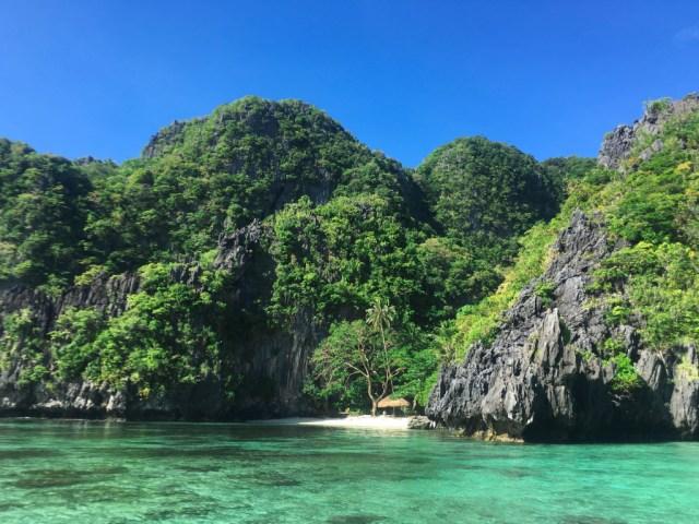 Big lagoon at Miniloc Island, El Nido, Palawan, Phlippines