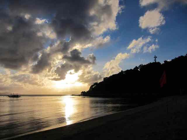 Sunset at Apulit Island, El Nido, Palawan, Philippines