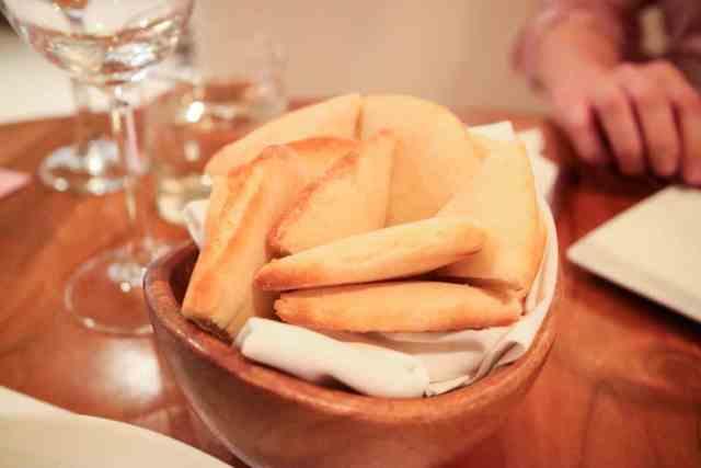 Pita bread from Alloy, Calgary, Canada