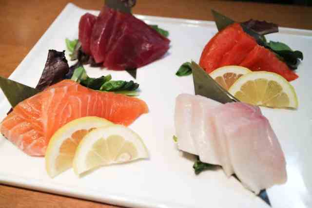 Assorted sashimi at Kabuku, Calgary, Canada