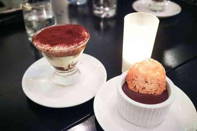 Big Taste at Cucina, Calgary, Canada - Tiramisu & Budino