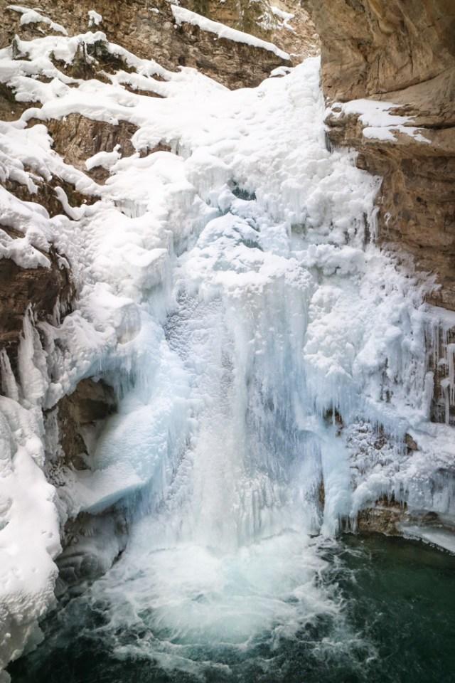 Johnston Canyon Ice Walk, Banff