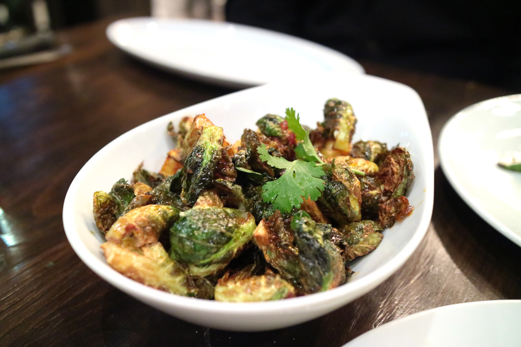 Brussels sprouts from Workshop Kitchen & Culture Calgary