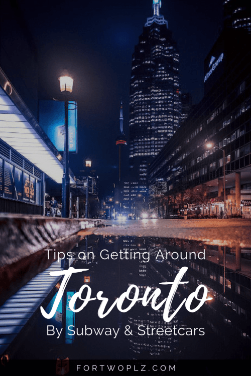 Visiting Toronto? Here's all you need to know about getting around the city with TTC subway and streetcars!
