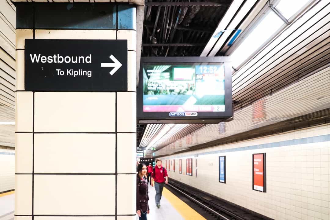 Toronto TTC Subway Streetcar