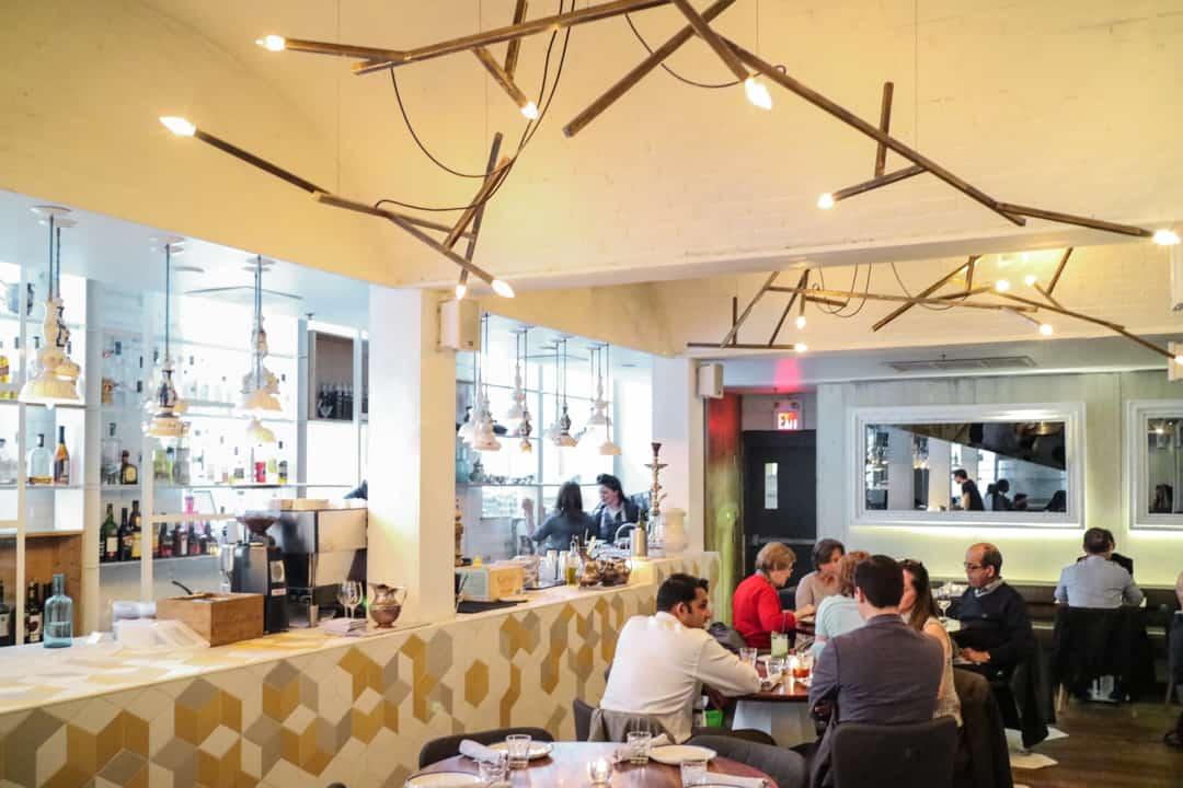 Byblos Eastern Mediterranean restaurant in Toronto