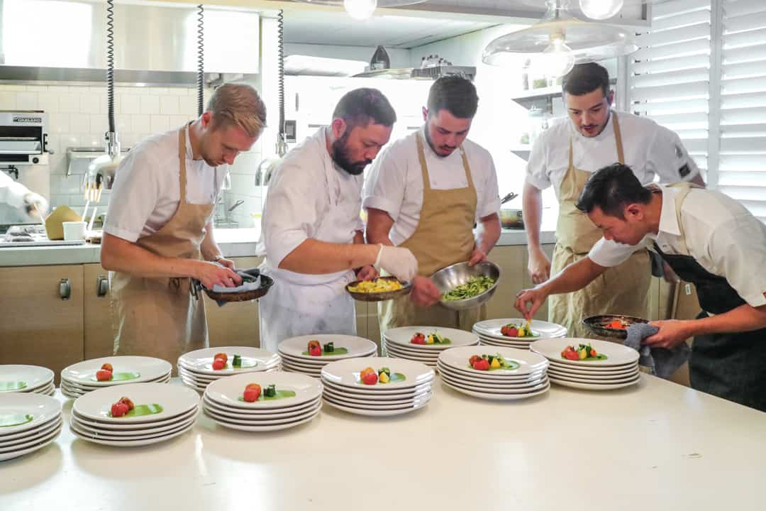 Collab Dinner at MARKET with Cehf Sean MacDonald and Chef Duncan Ly