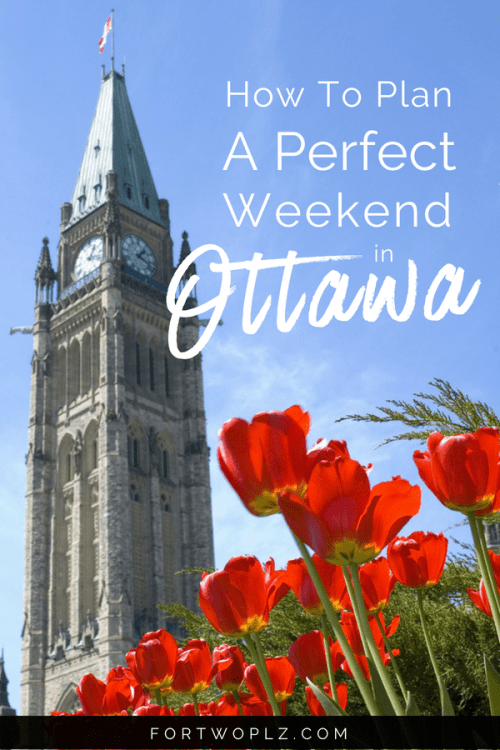 Planning a weekend trip to Ottawa, Canada? Wondering what must see attractions, best restaurants, and outdoor activities you can't miss? Click through to get your inspiration from this carefully curated 2-day itinerary. #ottawa #ontario #Canada #travelcanada #travelguide #tripplanning #traveltips #itinerary #thingstodo #traveldestinations #summertravels #instagramspots #photospots #Parliament #BywardMarket #RideauCanal