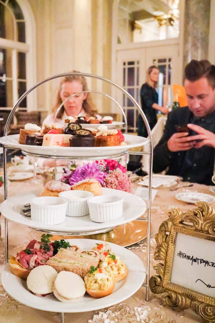 Fairmont Royal Champagne Afternoon Tea Calgary