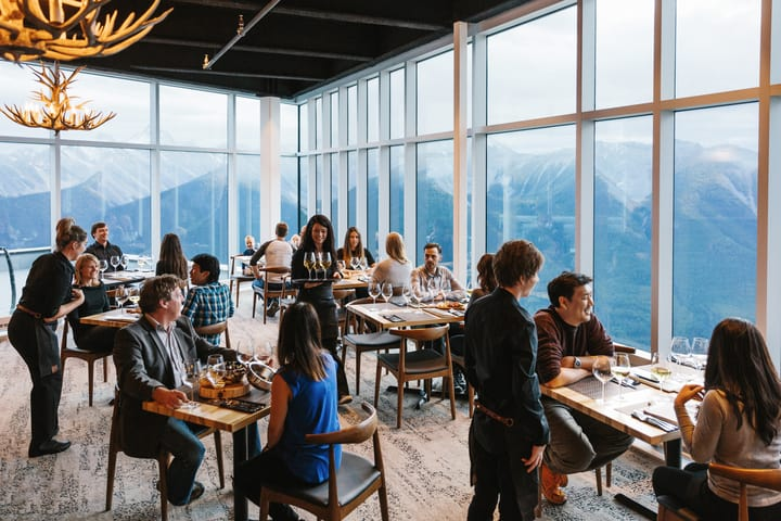 Sky Bistro at Banff Gondola Summit
