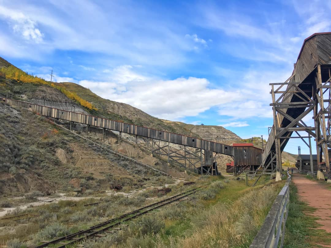 Atlas Coal Mine National Historic Site, Drumheller, Alberta, Canada