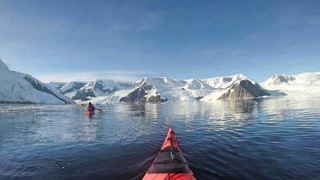 Adventure for adrenaline seekers: Kayaking Antarctica